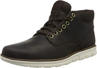 Men's Bradstreet Chukka Leather Boots, Brown