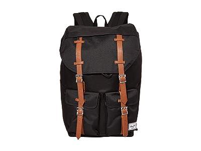 Herschel Supply Co. Buckingham (Black/Tan) Backpack Bags