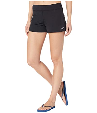 Speedo Swim Shorts (Speedo Black) Women