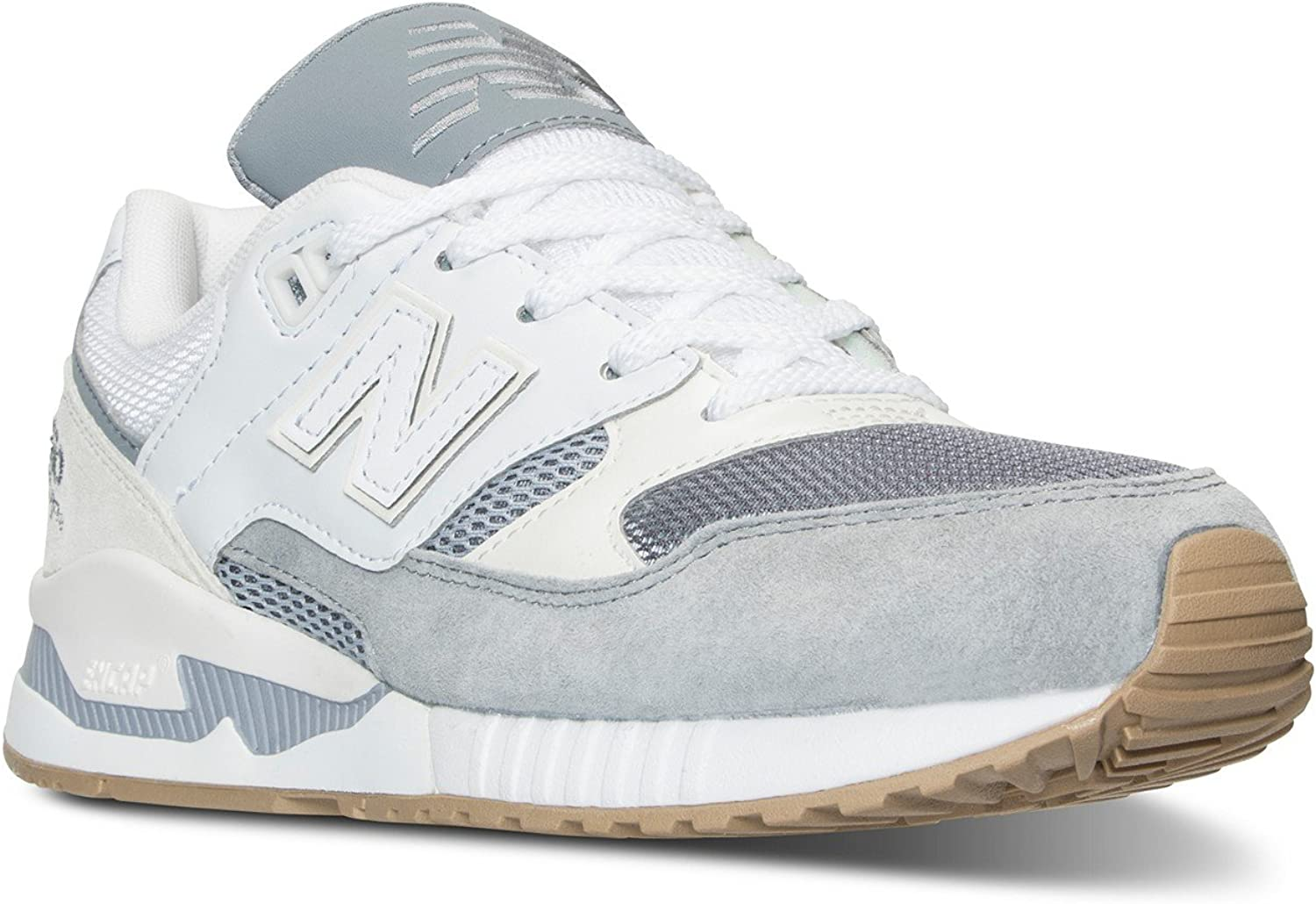 New Balance W530AB NB Classic 530 Summer Wave Steel Weiß Casual Comfort Turnschuhe (5)
