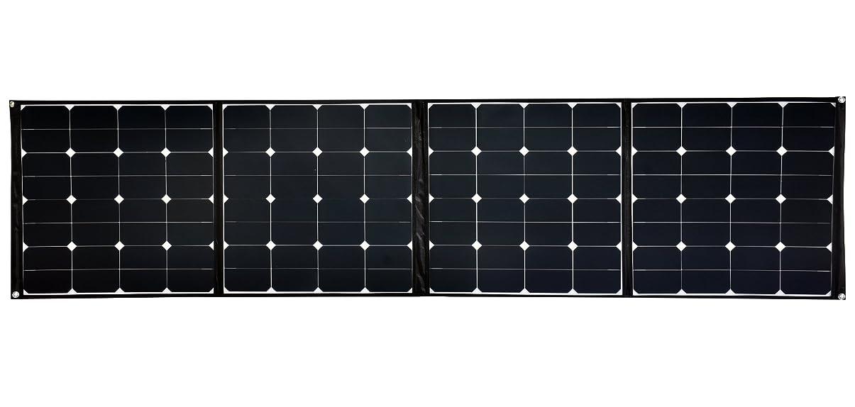 調整可能独裁に話すSolarOakポータブル折りたたみソーラーパネル充電器 ソーラー パネル ソーラー パネル充電器 ソーラー バッテリー チャージャー 高効率 ソーラーパネル ノートPC 自動車バッテリー充電可能(200W) [並行輸入品]
