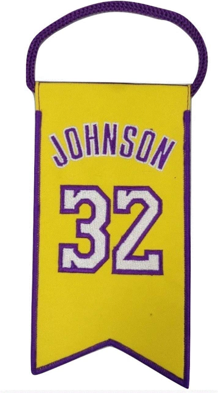 RS Brands Magic Johnson Los Lakers Retirement Angeles Min Cash special price A surprise price is realized Jersey