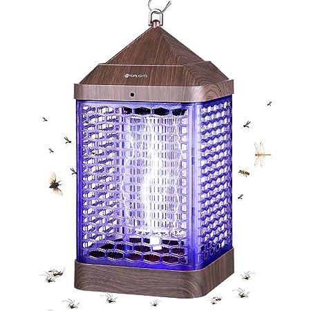 Polillas Aparato Antimosquitos para Insectos Moscas YUNLIGHTS L/ámpara Antimosquitos El/éctrico 7W UV LED Mosquito L/ámpara Trampa Luz UV L/ámpara Repelente Zapper de Mosquitos Moscas