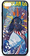 Compatible iPhone 7/8 Plus Case American-Gods-My-AINSEL- Shock-Absorbing Skid-Proof Durable TPU Protective Premium Hard Case for iPhone 7/8 Plus 5.5Inch