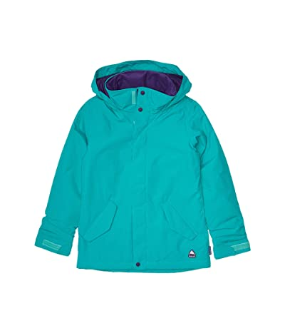 Burton Kids Elodie Jacket (Little Kids/Big Kids) (Dynasty Green) Girl