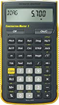 $39 » Calculated Industries 4050 Construction Master 5 Construction Calculator