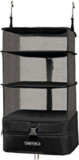 TABITORA Portable Hanging Travel Shelves Bag Packing Cube Organizer Suitcase Storage Large Capacity L