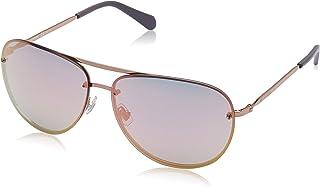 Fossil Women's Sonnenbrille Fos2084/S-Au2-62 Damen Sunglasses, Pink, 62.0