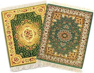 """Rug Mouse Pads, Oriental Rug Mouse Pad, Woven Mousepad, Persian Rug Mouse Pad, Oriental Carpet Mouse Pad, 9"""" X 7"""", Differe..."""