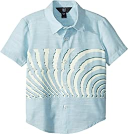 Blocked Short Sleeve Shirt (Toddler/Little Kids)