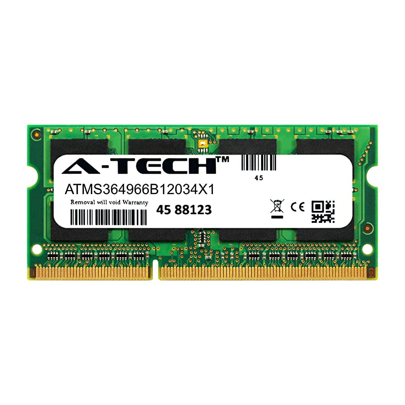 A-Tech 4GB Module for QNAP TS-251+ Laptop & Notebook Compatible DDR3/DDR3L PC3-12800 1600Mhz Memory Ram (ATMS364966B12034X1)