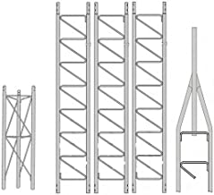 ROHN 25SS040 40' Self-Supporting Tower, No Ice