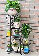 ZXHDND Flower Stand Flower Stand Multi-layer Indoor Balcony Frame Living Room Space Flower Pot Floor Rack, 75x48x23cm Flow...