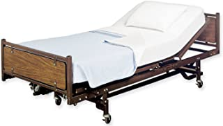 White Classic Fitted Hospital Bed Sheets, 36