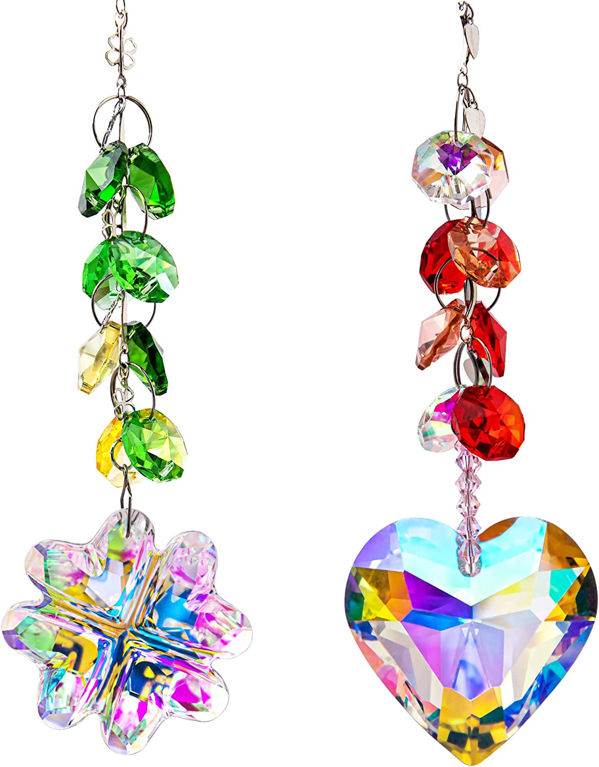 Crystal Rainbow Suncatcher Sale Special Price Glass Chakra Coating Pendant Today's only AB with