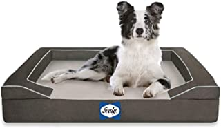 Sealy Dog Bed with Quad Layer Technology, Medium, Modern Gray