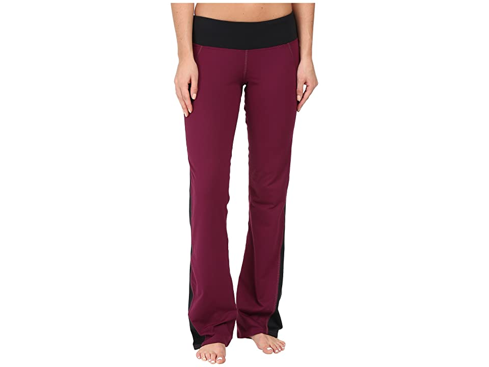 Hot Chillys MTF Flex Flare Pants (Viola/Black) Women