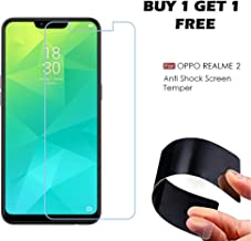 WOW Imagine (Buy 1 Get 1 Free) Unbreakable Nano Film Glass [ Flexible Like a Screen Guard, Harder Than a Tempered Glass ] Screen Protector for Oppo Realme 2