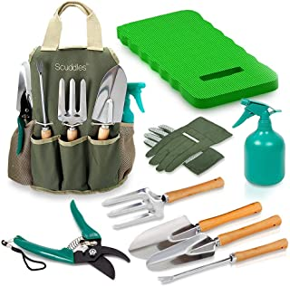 vremi 9 piece garden tools set