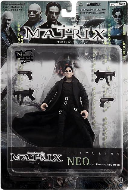 Neo Aka Thomas Anderson Action Figure The Matrix The Film Featuring By The Matrix Amazon De Spielzeug