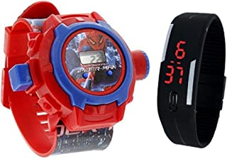toy watch jelly black