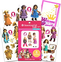 American Girl Crafts Sticker Pad ~ 170 American Girl Doll Stickers Featuring All 8 BeForever Characters