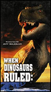 When Dinosaurs Ruled: Ground Zero, The Real Jurassic Park, The Land That Time Forgot [3 VHS Videos]