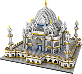Adult Large Building Blocks,Model Building Blocks 3950Pcs Landmarks Taj Mahal Model Building Block,Creator Blocks World Fa...