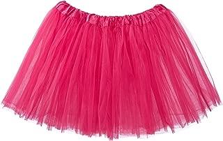 Adult Tutu Skirt, Classic Elastic 3 Layer Tulle Tutu for Women and Teens