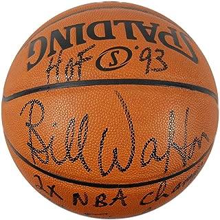 Bill Walton Signed I/O Basketball w/Multiple Inscriptions - Steiner Sports Certified - Autographed Basketballs