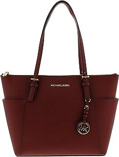 60fb993c6a3d Amazon.com: Michael Kors - Reds / Totes / Handbags & Wallets ...