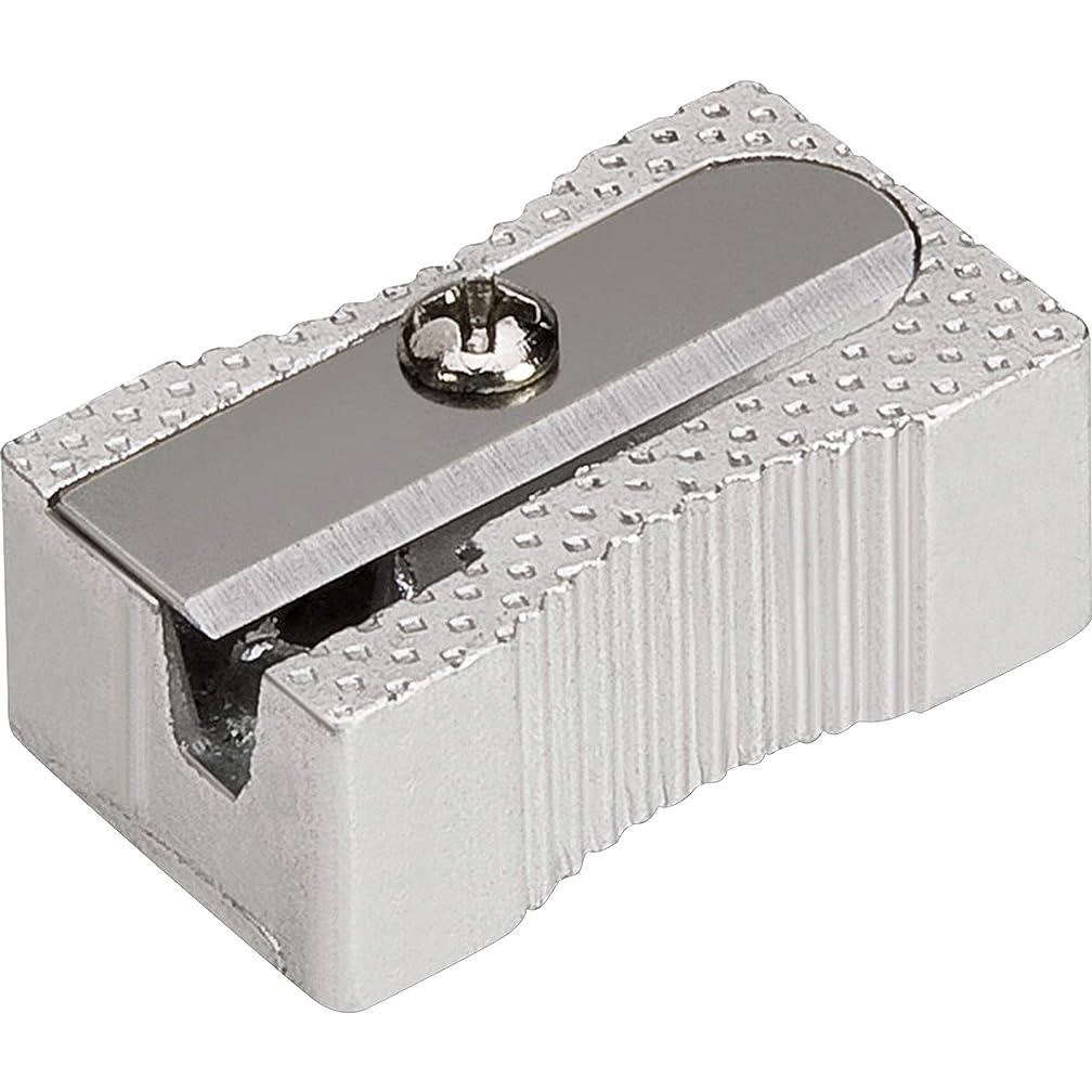 Integra Aluminum Pocket Sharpener, Steel, Silver (ITA42852)