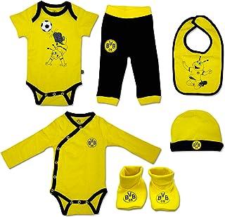 Borussia Dortmund BVB Baby-Geschenkbox 6-teilig, Größe 62/68