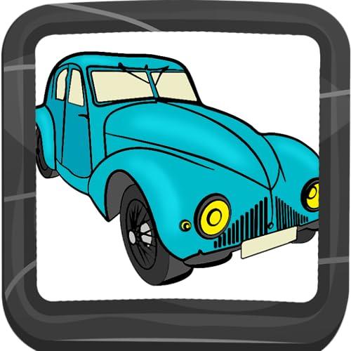 Libro para colorear de coches