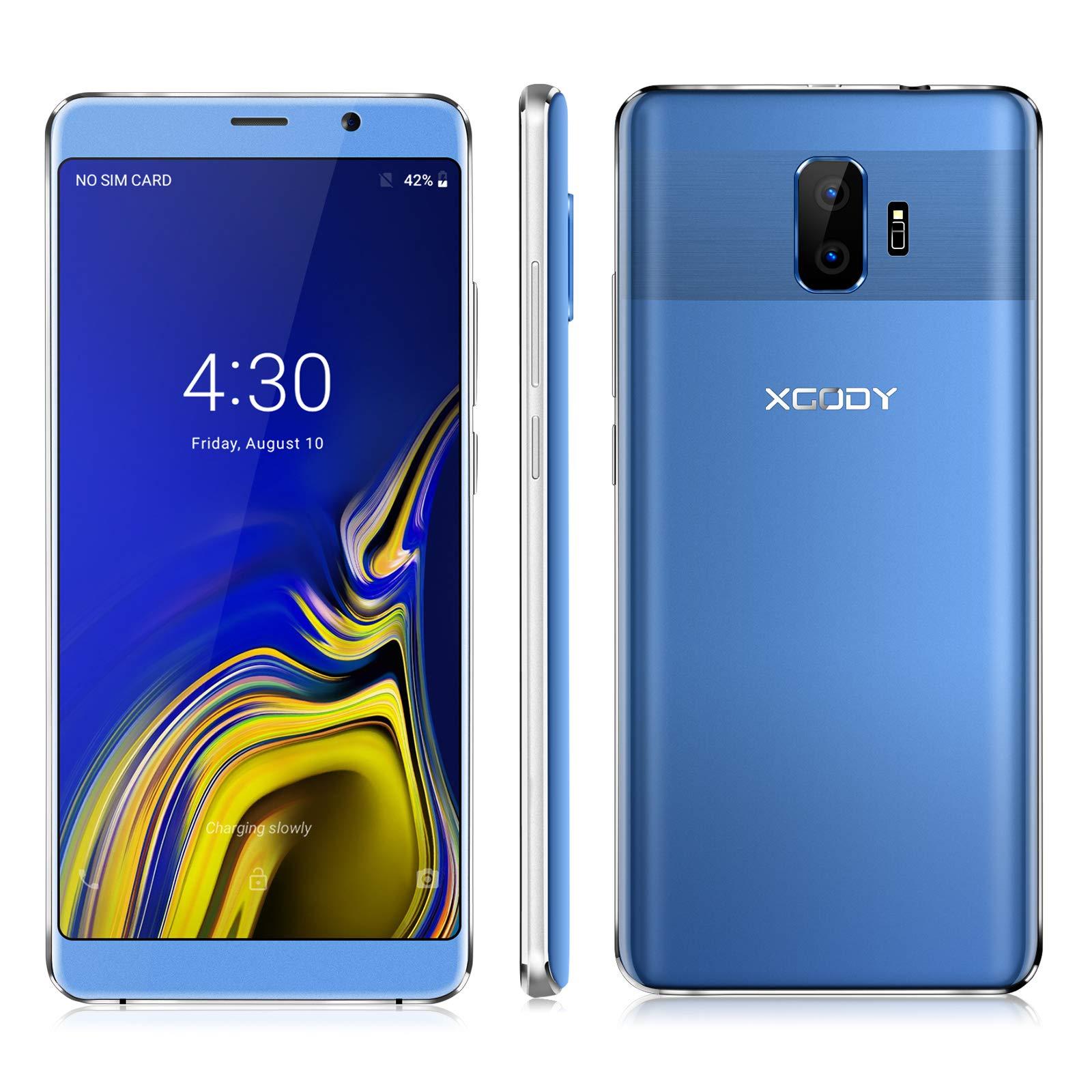 Xgody SIM Free Mobile Phones, Y27 Android GO 8.1, Dual SIM ...