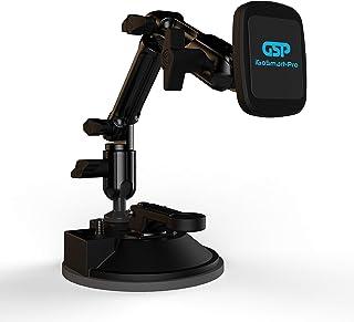 iGoSmart-Pro Magnetic Smartphone Holder Suction Cup Pad Mount for Windshield,Dashboard and Desktop