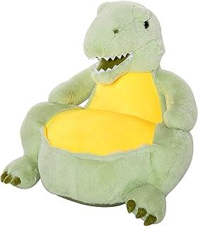 HOMCOM Sofá Infantil en Forma de Dinosaurio Sillón para Ni