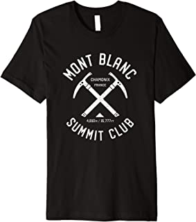Mont Blanc Summit Club | I climbed Mont Blanc Chamonix Premium T-Shirt