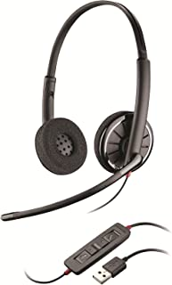 Plantronics 85619-12 Wired Headset, Gray