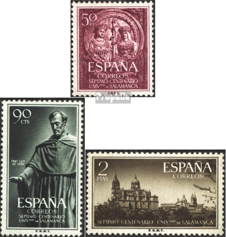 Prophila Collection España Michel.-No..: 1021-1023 (Completa.edición.) 1953 Uni Salamanca (Sellos para los coleccionistas): Amazon.es: Juguetes y juegos