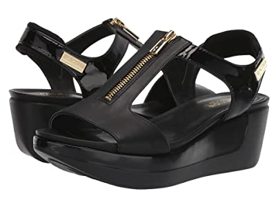 Kenneth Cole Reaction Pepea T-Strap (Black) Women
