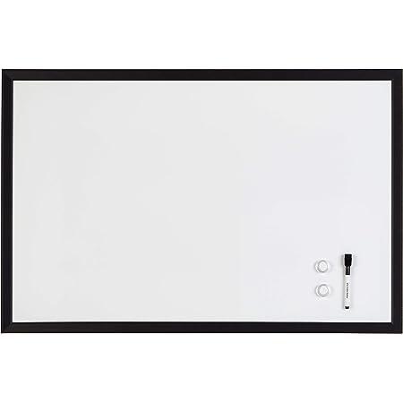 "amazonbasics Magnetic Dry Erase Board, 23"" x 35"", MDF Frame"