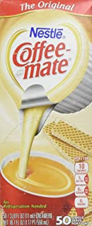 Nestle Coffee-Mate Original Creamer.375oz, 50 Count Box
