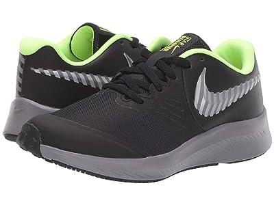Nike Kids Star Runner 2 HZ (Big Kid) (Black/Reflect Silver/Gunsmoke) Kids Shoes