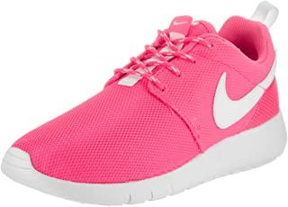 Nike Big KidS Roshe One GS Running Shoes, Pink Blast/White, 6.5 M US Big Kid