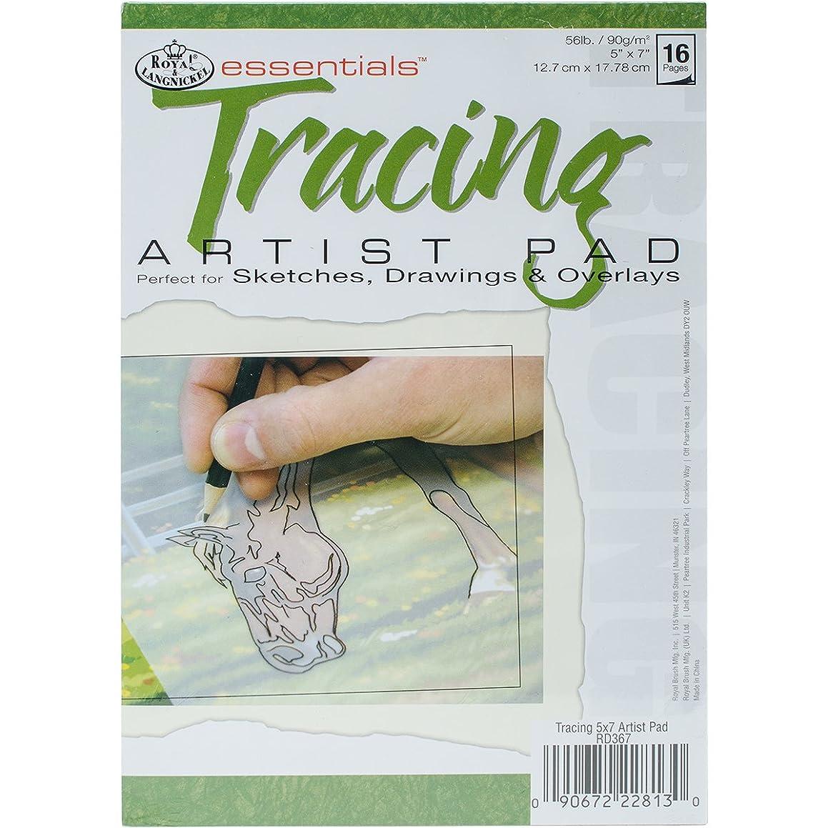 Royal Brush (ROYH8) Essentials(TM) Tracing Artist Paper Pad 5