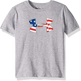 8b8e322fc Under Armour Boys' Big Logo Short Sleeve Tee Shirt
