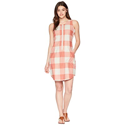 Woolrich Over and Out Dress (Baked Clay Check) Women