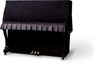 Clairevoire Classics: Premium Velvet Upright Piano Cover | W