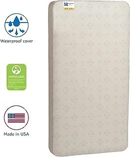 Sealy Baby Posture 2-Stage Dual Firmness Waterproof Standard Toddler & Baby Crib Mattress, 51.63